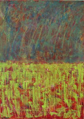 Claire Moog, Huile sur toile, 50x70